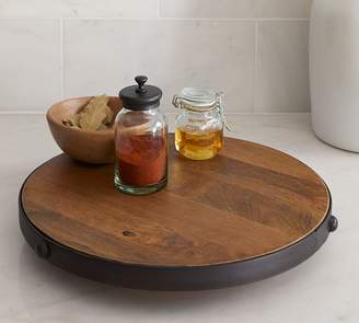 Pottery Barn Vintage Blacksmith Lazy Susan