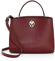 Kate Spade Women's Medium Romy Twistlock Leather Satchel