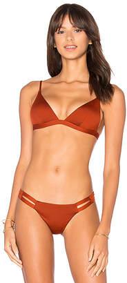 vitamin A Stella Tie Back Top in Rust $99 thestylecure.com