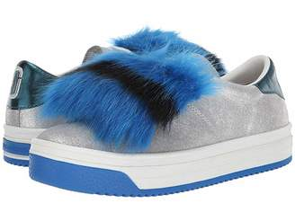 Marc Jacobs Empire Multicolor Sole Sneaker with Faux Fur