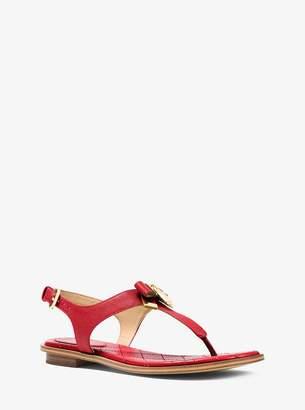 MICHAEL Michael Kors Alice Saffiano Leather Sandal