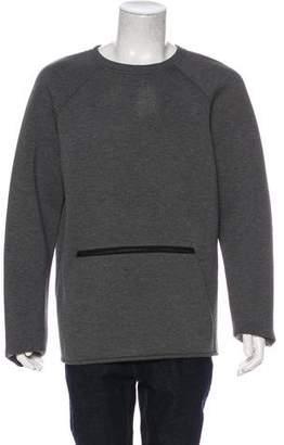Alexander Wang Neoprene Crew Neck Sweater