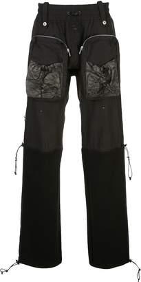 BLACKMERLE zip pocket trousers