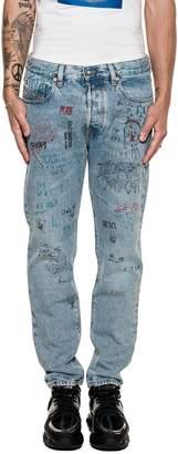 Diesel Light Blue Mharky L.32 Denim Jeans
