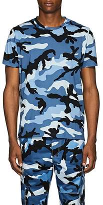 Valentino Men's Camouflage Cotton T-Shirt