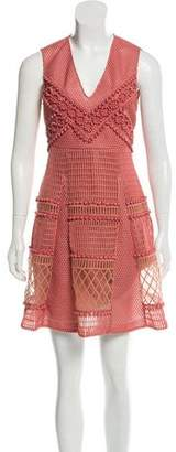 Burberry 2016 Prorsum Honeycomb Dress w/ Tags