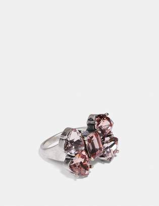 Coach Crystal Bow Ring