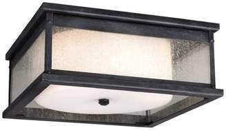 Feiss Pediment 2-Light Outdoor Ceiling Lights