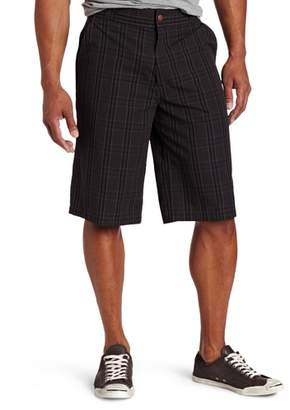 Dickies Men's Big-Tall 13 Inch Plaid Short