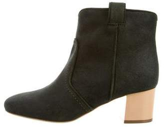 Laurence Dacade Suede Ankle Booties w/ Tags