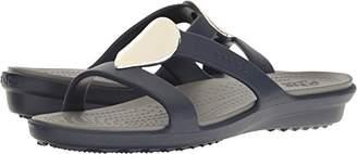 Crocs Women's Sanrah Embellished Sandal