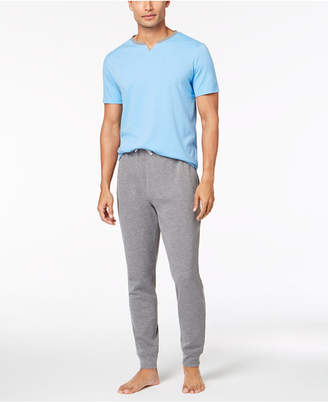 Bar III Men's Colorblocked Pajama Set, Created for Macy's