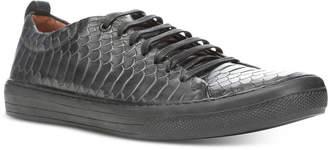 Donald J Pliner Men's Rand Vintage Python Sneakers