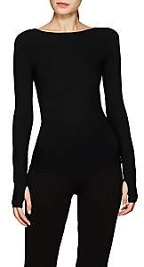 Live the PROCESS Women's Rib-Knit Top - Black