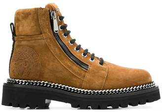 Balmain lace-up combat boots