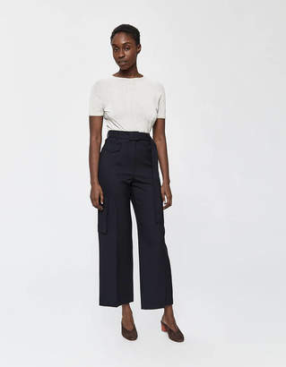 Lemaire Soft Tee in Off-White