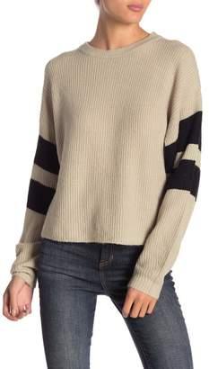 John & Jenn Varsity Striped Sweater