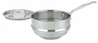 Cuisinart Multiclad Pro Triple Ply Stainless Steel Double Boiler with Cover