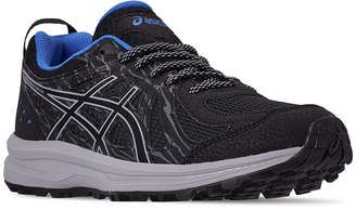 Women Frequent Trail Running Sneakers From Finish Line By Asics In Black Blue