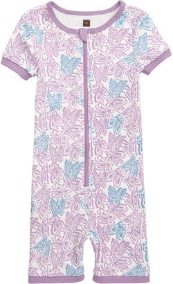 Tea Collection Fitted One-Piece Short Pajamas