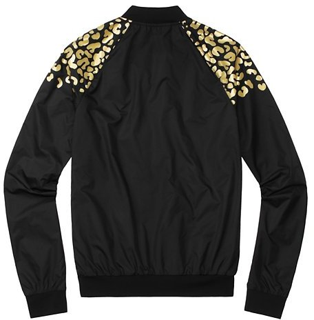 Juicy Couture Reflective Leopard Bomber Jacket