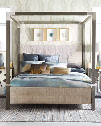 Bernhardt Palma King Canopy Bed