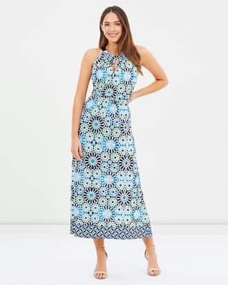 Wallis Tile Maxi Dress