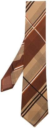 Marni diagonally striped tie
