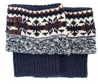 Muk Luks Women's Lodge Boot Topper 6.25 x 6