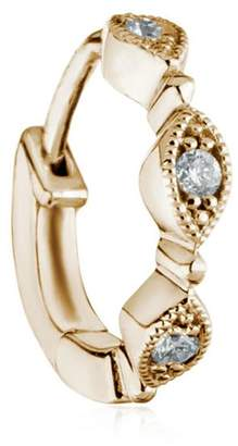 Stone Paris Yasmine Tiny Hoop Mono Earring