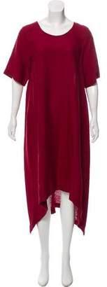 eskandar Lightweight Short Sleeve Dress