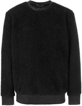 Helmut Lang textured sweatshirt