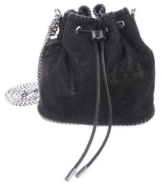 Stella McCartney Shaggy Deer Small Bucket Bag