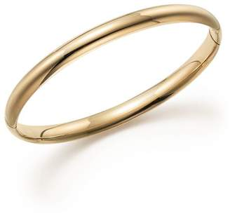 Bloomingdale's 14K Yellow Gold Hinged Bangle - 100% Exclusive