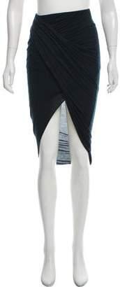Helmut Lang Asymmetrical Midi Skirt
