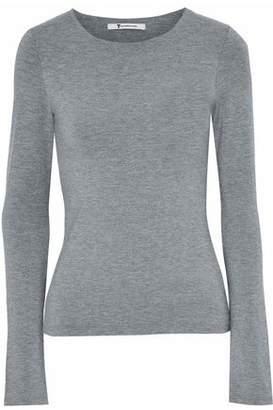 Alexander Wang Cutout Stretch-Modal Jersey Top