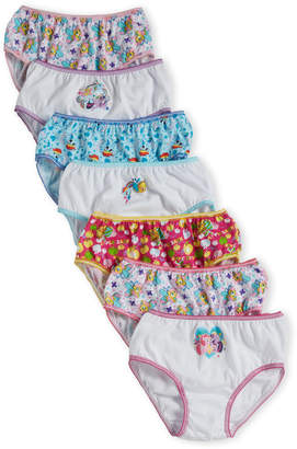 My Little Pony Girls 4-6x) 7-Pack Panties