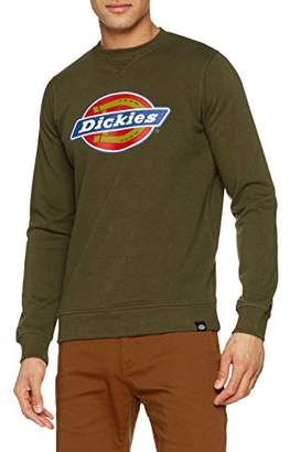 Dickies Men's Harrison Sweatshirt, Green (Dark Olive Dko)