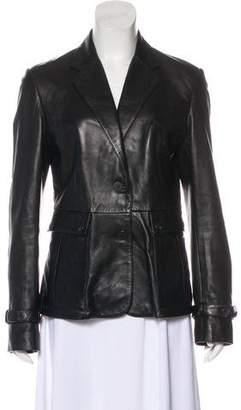 Burberry Leather Sport Coat