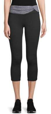 Gaiam Taylor Twisted Capri Leggings