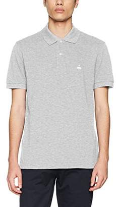 Brooks Brothers Men's 100096642-020 Polo Shirt, (Grey 020)