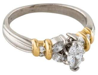 Ring Marquise Diamond Engagement