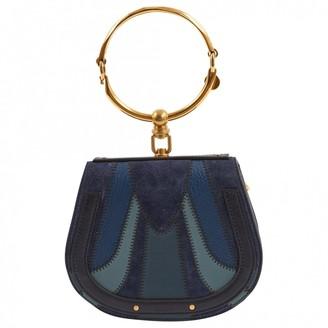 Chloé Bracelet Nile Blue Leather Handbag