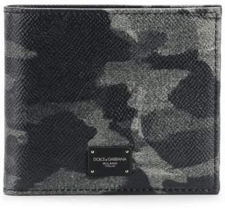 Dolce & Gabbana Dauphine camouflage wallet