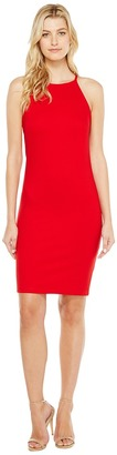 Christin Michaels - Sigrid High Neck Spaghetti Strap Dress Women's Dress $69 thestylecure.com