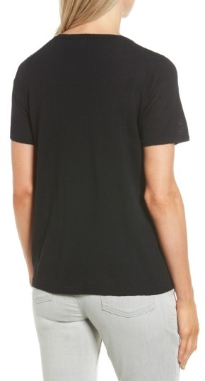Women's Eileen Fisher Merino Wool Tee 5