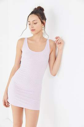 Urban Outfitters Mary Textured Gingham Dress