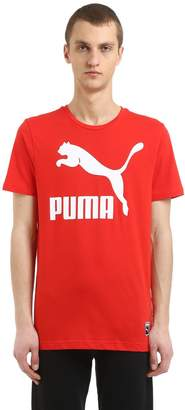 Puma Select Archive Logo Cotton Jersey T-Shirt