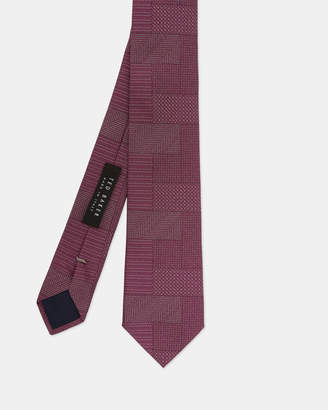 Ted Baker RADDED Patchwork silk tie