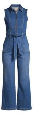 Alice + Olivia Jeans Jeans Women's Gorgeous Denim Jumpsuit - French Blue - Size 30 (8)